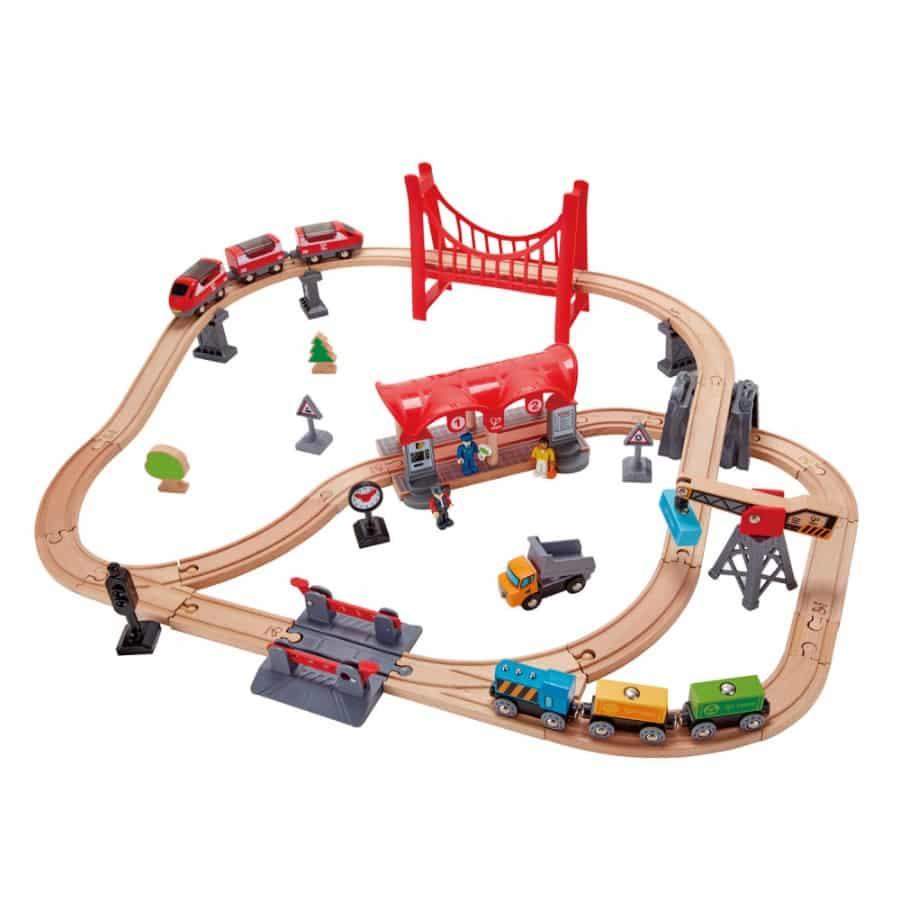 Hape Busy City Railway - Paid by membership fee