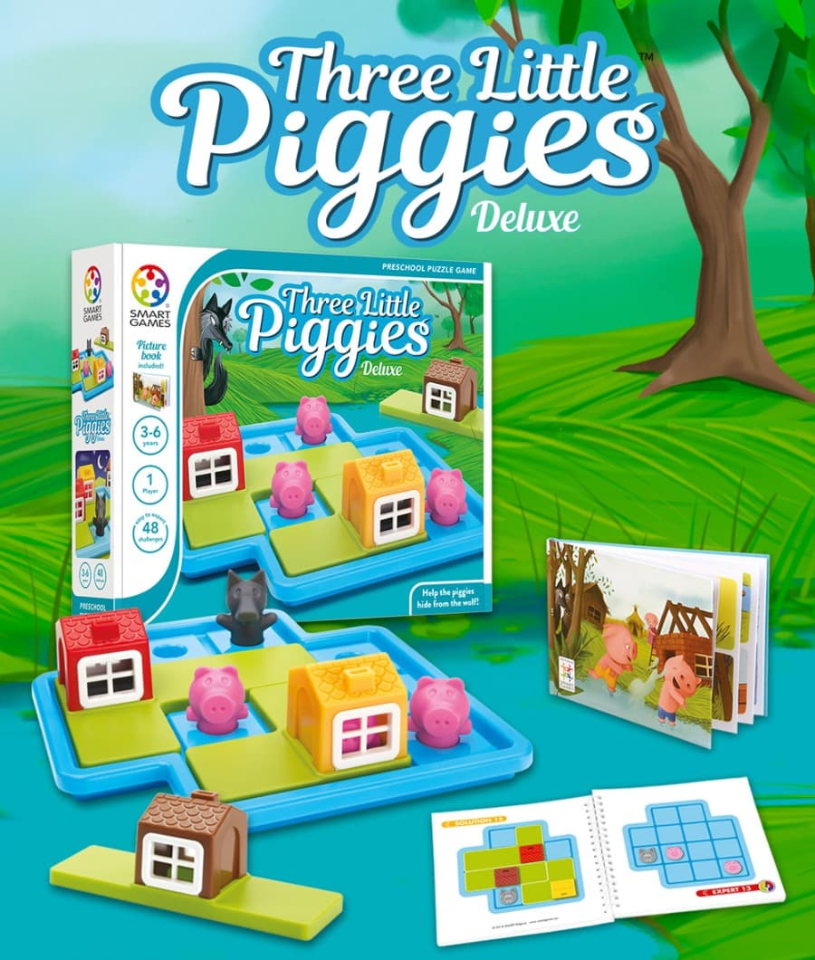 Smart Games Three Little Piggies Deluxe photo