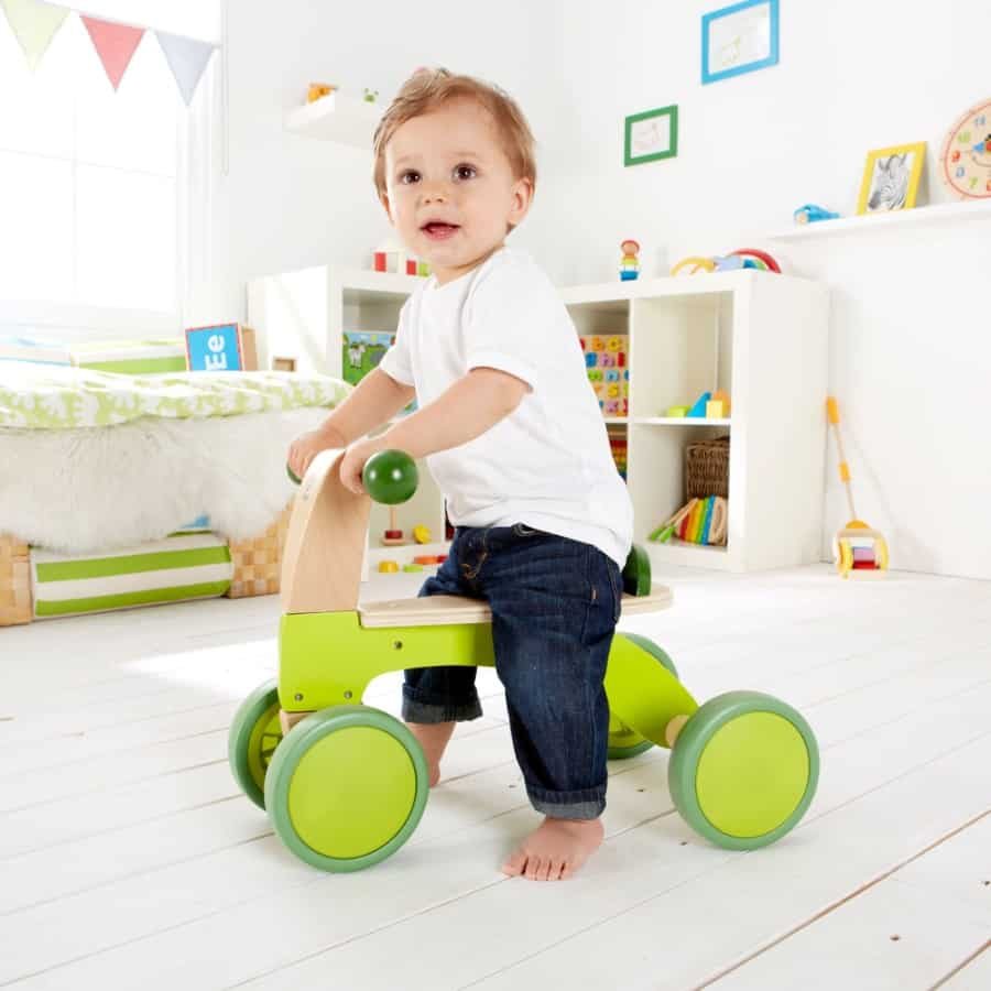 Hape: Scoot-Around Wooden Ride On - Donated by Zhen Wu