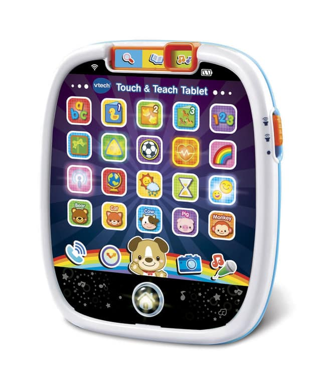 Touch & Teach Tablet (Battery toy) - donated by Branavi Kandasamy