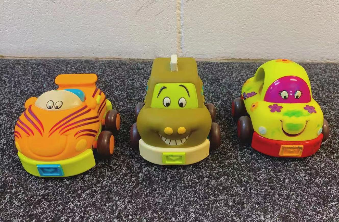 Battat B. 3 Pull Back Toy Cars - Donated by Mo Yan