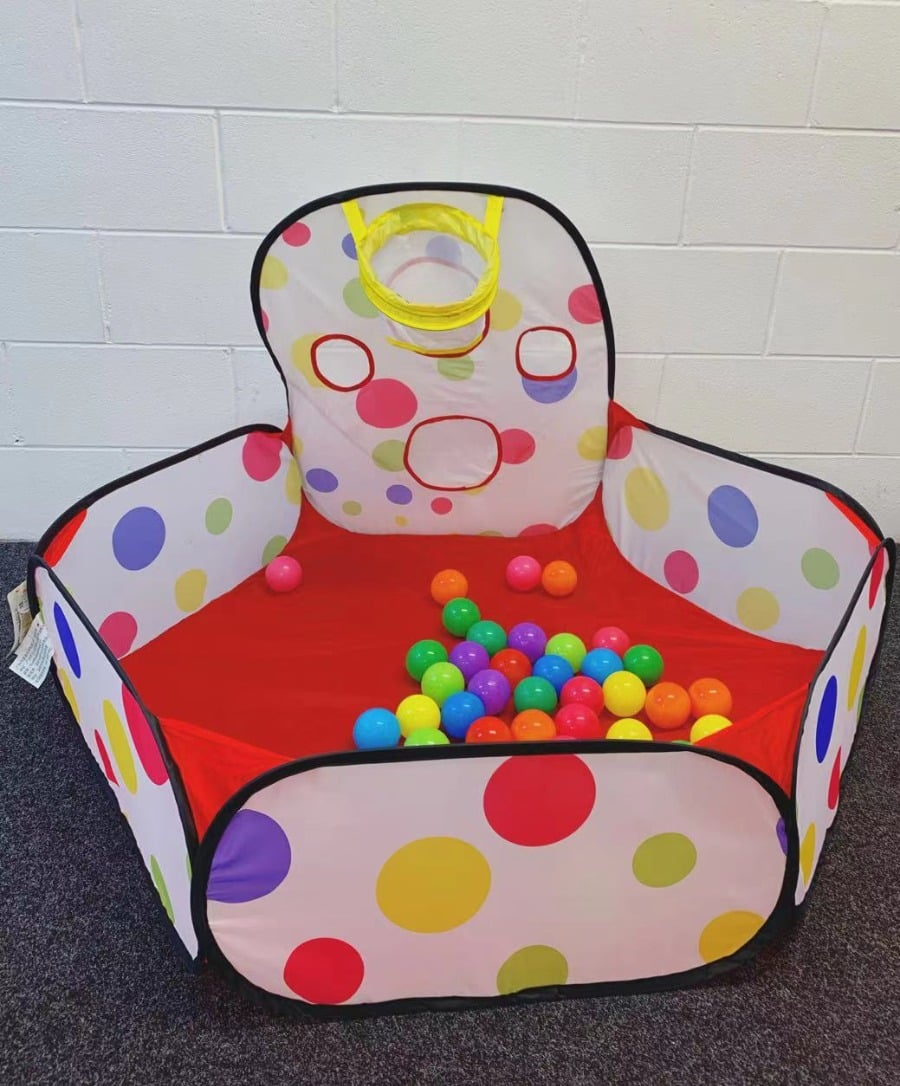 Ball Pit Play Tent with balls (pop up)- Donated by Mo Yan