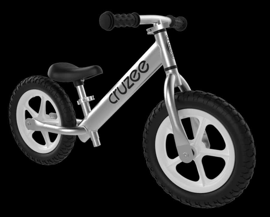 Silver CRUZEE Balance Bike  - Paid by membership fee photo