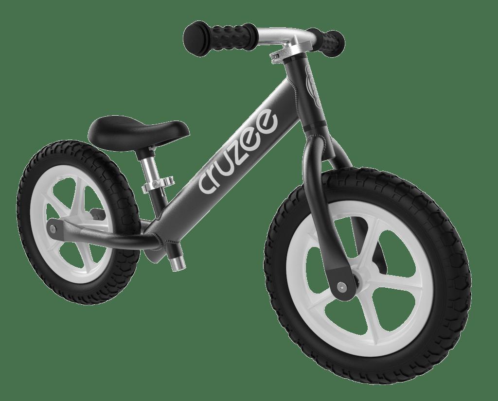 CRUZEE Balance Bike Black - Funded by Pub Charity