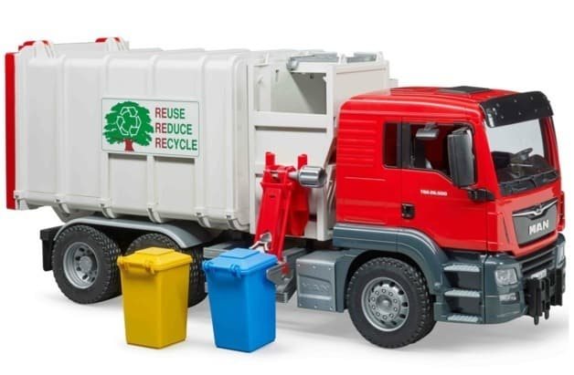 Bruder MAN Garbage Truck - Side Loading